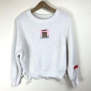 Sweaters - quick snack knit crew neck oversized sweater